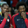 Kevin Durant & DeAndre Jordan Party It Up in Greece