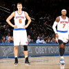 Carmelo Anthony Wants the Kristaps Porzingis Hype Train to Slow Down