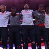 Knicks, Rockets Lock Arms During National Anthem