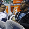 "Durant Says He and Westbrook Were ""Work Friends"""