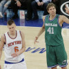 Dirk Nowitzki is Willing to Work Out with Kristaps Porzingis Over the Offseason