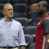 Dwyane Wade Hasn't Spoken with Heat President Pat Riley Since Joining Bulls