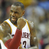 LeBron Lets Out Frustration After Loss to Davis-Less Pelicans