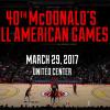 2017 McDonald's All American Games Nominations