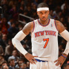 Carmelo Anthony Isn't Disappointed About Not Being Named All-Star Starter