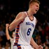 Kristaps Porzingis Needs MRI on Sore Achilles, Knicks Don't Know When He'll Return