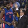 Pistons Coach Stan Van Gundy (Sort of) Quashes Andre Drummond Trade Rumors