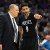Timberwolves Head Coach Tom Thibodeau Says He and Ricky Rubio are Cool