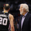Gregg Popovich is Going to Use Manu Ginobili 'Like a Bar of Soap' Until He Retires