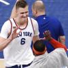 Kristaps Porzingis: New York Knicks Offense Is 'Random,' Team Doesn't Know Triangle 'Very Well'