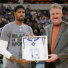 Pacers President Larry Bird Says He 'Wasn't Motivated to Move Paul George' at Trade Deadline