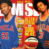 Joel Embiid Recreates Classic Allen Iverson SLAM Magazine Cover