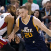 Jazz Threatened by Heat as  Suitor for Hayward in Free Agency