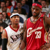 "LeBron Says Allen Iverson ""Was a God"""