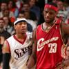 "LeBron Says Allen Iverson ""Was a God"""
