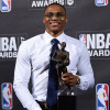 DEW Unveils Triple-Double Breasted Suit to Honor Westbrook's MVP/Record-Breaking Season