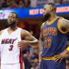"""Report: People Close to LeBron """"Fairly Convinced"""" Wade Will Be a Cav Next Season"""