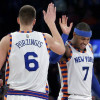 Kristaps Porzingis Hopes Carmelo Anthony Ends Up Staying with New York Knicks