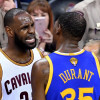 Kevin Durant on Fan Saying LeBron James is the Better Player 'Nah'