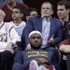 "LeBron Shoots Down Rumor He is ""100 percent leaving Cleveland"" Immediately"