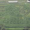 """Trust The Process"" is in Corn Maze Form Now"