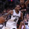 Kawhi Leonard to Miss Spurs' Entire Preseason Slate While Rehabbing Quad Injury