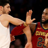 Enes Kanter Reminds LeBron James He Isn't the King of New York—Kristaps Porzingis Is