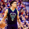 Malcolm Brogdon Embracing Roll Off the Bucks' Bench Following Eric Bledsoe Trade