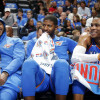 Carmelo Anthony Thinks Paul George, Russell Westbrook and Himself Must Do 'Better Job of Being Selfish'