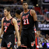 Hassan Whiteside Isn't Seeing Eye-to-Eye with Goran Dragic, Or Dion Waiters, Or Erik Spoelstra