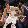 Knicks GM Scott Perry Doesn't Know Why Kristaps Porzingis' Brother Commented on Unicorn's Future