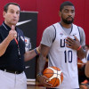 Duke Coach Mike Krzyzewski Isn't Surprised By Kyrie Irving Thriving in Leadership Role with Celtics