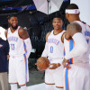Carmelo Anthony, Paul George, Russell Westbrook Preach Patience for Struggling Thunder