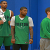 Kyrie Irving Says It's Been 'Pretty Easy' Building Relationship with Celtics Head Coach Brad Stevens