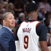 Tyronn Lue Didn't Want to Put Dwyane Wade in Cavaliers' Starting Lineup at Beginning of the Season