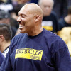 Did LaVar Ball Tweet a Gif of Him Dunking on Donald Trump? Why Yes, Yes He Did