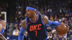 Carmelo Anthony Would 'Love' to Sit Down with NCAA to Talk About Paying Student Athletes