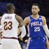 Philadelphia Billboards Urge LeBron to Choose 76ers