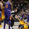 Jared Dudley, Marquese Chriss Cheap Shot Ricky Rubio