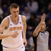 Good News Knicks Fans: Kristaps Porzingis is Walking Again Following ACL Surgery
