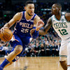 """Celtics Fans Chant """"Not a Rookie"""" at Ben Simmons During Game 1, Mitchell Likes It"""