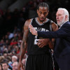 On Heels of Trade Request, Kawhi Leonard Meets with Spurs Head Coach Gregg Popovich