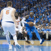 Not So Fast: Carmelo Anthony Pumps Brakes on Prospect of Him Coming Off Rockets Bench