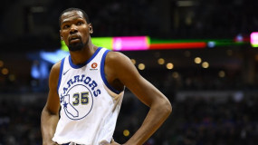 Kevin Durant 'Not Really' Impressed by New York Billboard Recruiting Him on Knicks' Behalf