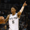 Injury Bug Hits Spurs Back Court; Murray Tears ACL