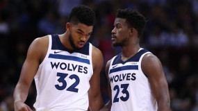 Report: Jimmy Butler Wanted to 'Sit Down' with Karl-Anthony Towns and Discuss 'Several Issues'