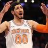 Enes Kanter Doesn't Seem Thrilled About Being Relegated to New York Knicks Bench