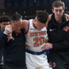 Report: Knicks Rookie Kevin Knox to Miss At Least One Week with Left Ankle Injury