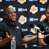 Lakers President Magic Johnson Says Team Has No Plans to Fire Head Coach Luke Walton