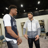 Stephen Curry Calls Giannis Antetokounmpo 'Very Unique'